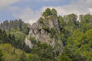 Ruine Schloss  Hausen im Donautal bei Beuron