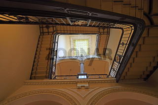 historische Treppe, Aufgang,  Berliner Dom, Berlin, Deutschland