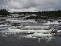 Trappstegsforsen - Waterfall in Sweden