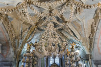 Kostnice Church in Kutna Hora - Czech Republic