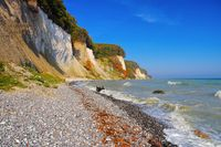 Ruegen Kreidekueste im Herbst - Ruegen chalk cliffs in autumn