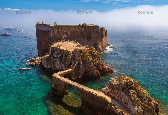 Fort in Berlenga island - Portugal