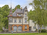 Building with turrets, Tuttlingen