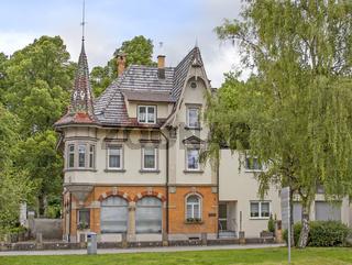 Tuttlingen, Gebäude mit Türmchen