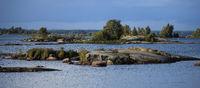 Idyllic landscape in South West Sweden.