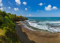 Beach near Tanah Lot Temple - Bali Indonesia
