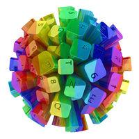 Keyboard Sphere Color