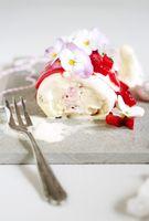 vanilla strawberry ice