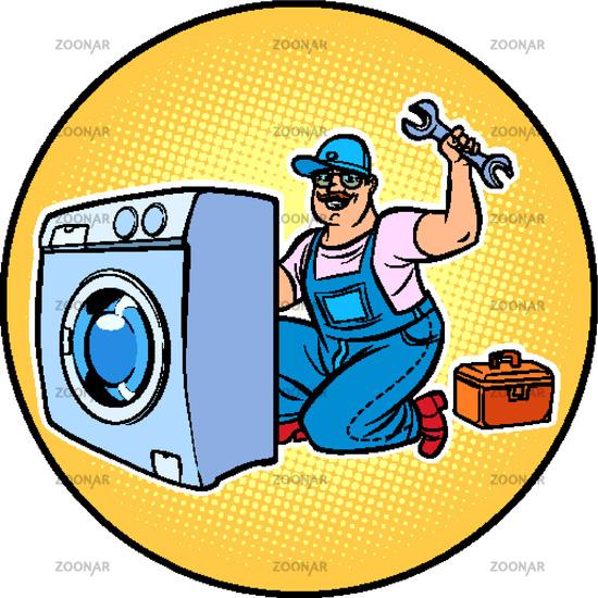 master repair washing machine