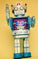 rerto robot toy