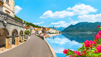 Perast in summer