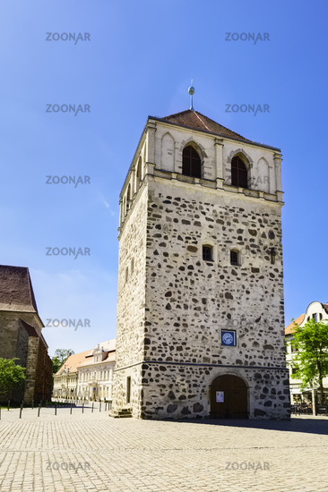 Detached belfry of St.-Bartholomäi Church, Zerbst/Anhalt, Saxony-Anhalt, Germany
