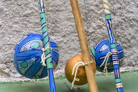 Brazilian musical instrument called berimbau