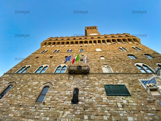 Palazzo Vecchio in Piazza Signoria, Florence