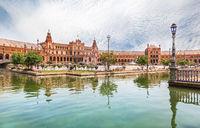 Spain Square in Seville, Spain