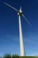 Brooklyn Wind Turbine, Wellington, New Zealand.