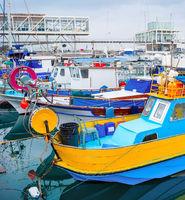 Fishing boats, Limassol marina, Cyprus