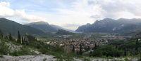 Panorama von Arco in Trentino Italien