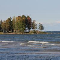 Autumn scene in Vita Sannar, Sweden.
