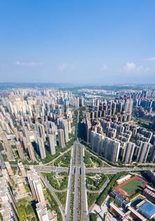 city overpass on xian