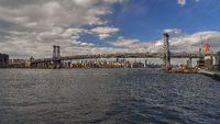 The Manhattan Bridge in New York City