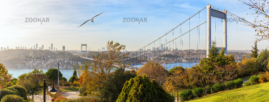 Fatih Sultan Bridge or Second Bosphorus Bridge, Istanbul