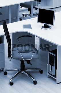 new chair at modern office