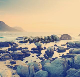 South African Ocean Sunset