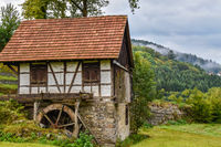 Watermill in the Black Forest
