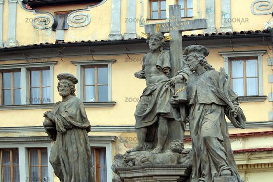 sculptures in Prague