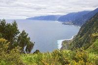 View from Eira da Achada viewpoint in Madeira