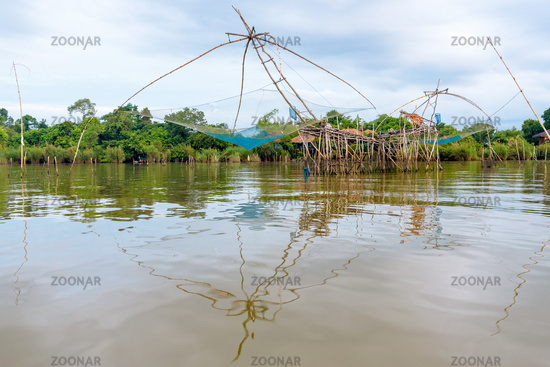 Yok Yor, is a fishing with local wisdom in Thailand