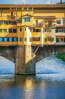 The Ponte Vecchio in Florence Italy Tuscany