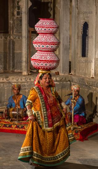 Dances of Rajasthan - performance in Udaipur