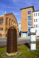 Historic Isolators, Hermsdorf, Thuringia, Germany