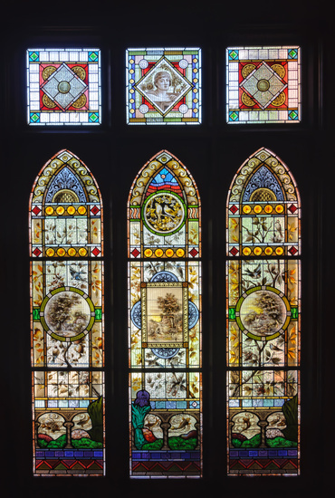 Victorian stained glass windows - Mildura, Victoria, Australia