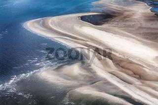 Westerhever, Luftbild vom Schleswig-Holsteinischen Nationalpark Wattenmeer