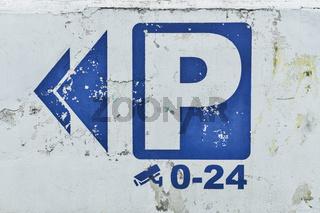 Parkplatz   parking place
