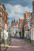Street in Haarlem, Netherlands