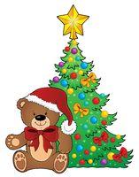 Christmas teddy bear topic image 2
