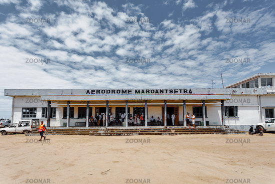 domestic airport in Maroantsetra city, Madagascar