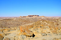 View over the Kuiseb Pass in Namibia