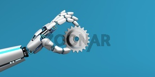Robot Hand Gear Wheel