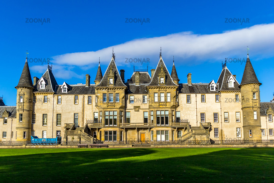 Callendar House/ Estate in Callendar Park, Falkirk, Scotland, UK