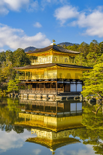 Kinkakuji Golden Pavilion, Kyoto, Japan