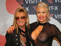 Ginger Costello-Wollersheim,Yvonne Schaufler,husband Bert Wollersheim erotic fair Venus Berlin 2019