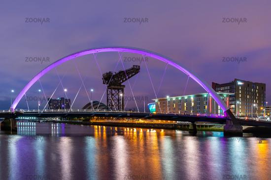 Clyde Arc Bridge Scotland
