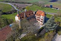 Bavois Castle, Chateau de Bavois, Bavois, Vaud, Switzerland
