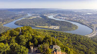 View of Chattanooga and the Tennessee Riverfrom Lookout Mountain