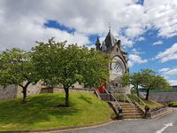 The Pitlochry Parish Church in Scotland